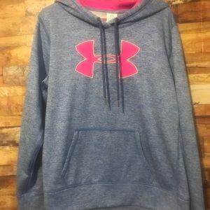 Ladies xL cold gear under armour hoodie